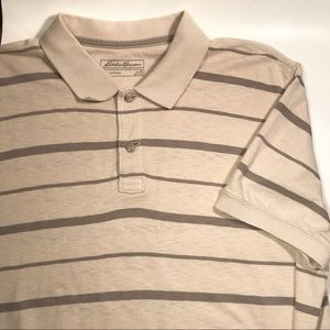 Eddie Bauer Mens XL Polo shirt short sleeve